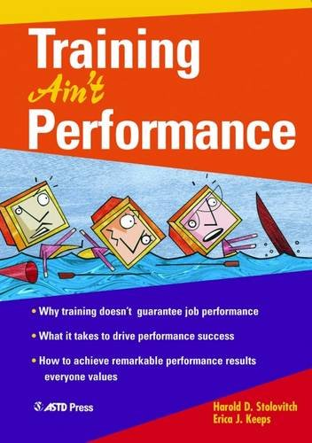 Training Ain't Performance