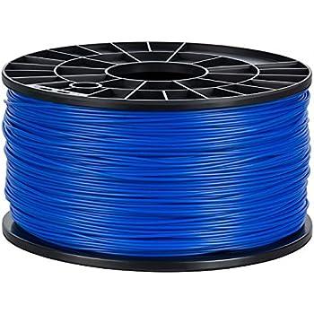 NuNus PLA Filament 1kg (blau, 1.75mm) Premium Qualität für 3D Drucker MakerBot RepRap MakerGear Ultimaker uvm.
