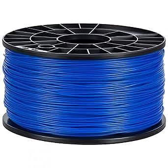 NuNus ABS Filament 1kg für 3D Drucker MakerBot RepRap MakerGear Ultimaker uvm. (blau, 1,75mm)