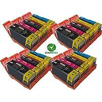 4x Canon CLI526, PGI525, WITH CHIP for Cannon Pixma iP4850- Multipack Set of 5 Canon Compatible Printer Ink Cartridges CANON PIXA iP4850, MG5150, MG5250, MG5350, MG6150, MG8150, MX885, IX6550 Printer Inks - (Contains: 4x PGI-525BK, 4x CLI-526BK, 4x CLI-526C, 4x CLI-526Y, 4x CLI-526M) High Capacity Inks (Cannon Canon CLI-526, PGI-525)