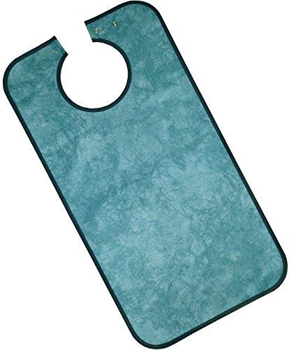 PFLEGE-POINT® Kleidungsschutz / Ess-Schürze für Erwachsene, wasserdicht (hellblau)