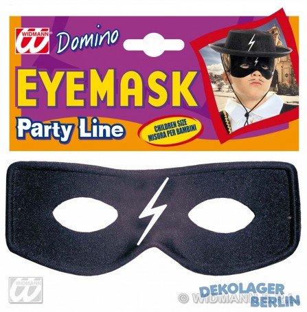Widmann-Domino Caballero Maske von Zorro Unisex Kinder, Einheitsgröße, - Bandito Kinder Kostüm