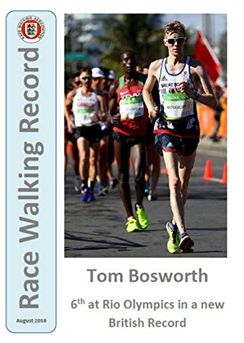 Race Walking Record 851 - August 2016 (English Edition) por Noel Carmody