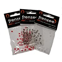 Frenzee – FXT-Mikro-Köderbänder aus Silikon, 100 Stück pro Packung