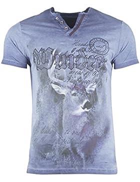 Hangowear Herren T-Shirt Uberto S bis XXXL Trachtenshirt NEU