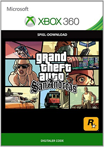 GTA: San Andreas  [Xbox 360 - Download Code] (Autos Spiele 360 Xbox)
