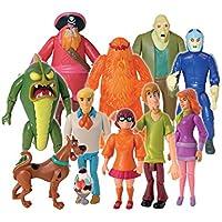 Scooby Doo 10 Amigos y Enemigos colección figura de acción