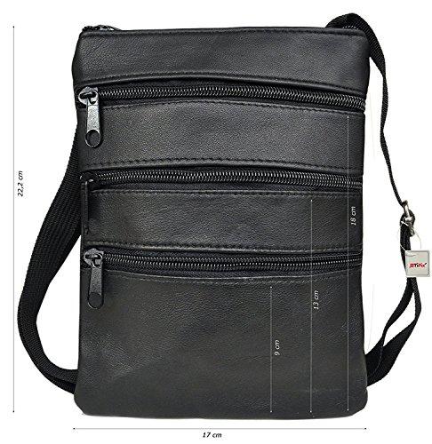 ATIPIX , Borsa organizer portatutto Noir (21 x 17 x 1) - Taille L
