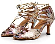 Ladies Ballroom Dance Shoes, Peep Toe Wedding Indoor Prom Sandals