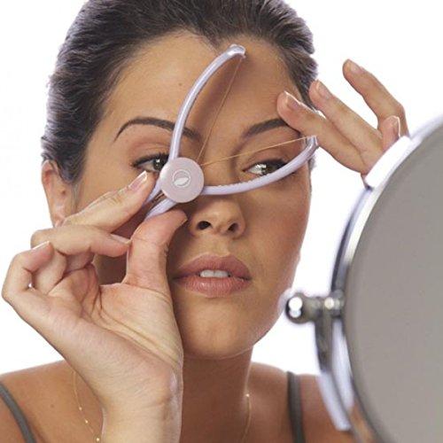 Amazing Mall Amazing Slique Eyebrow Face and Body Hair Threading Removal Epilator System Kit