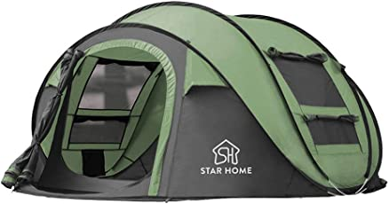 STAR HOME 3-4 Personen Wasserdicht Pop up Zelt Outdoor Instant Set bis Camping Zelten