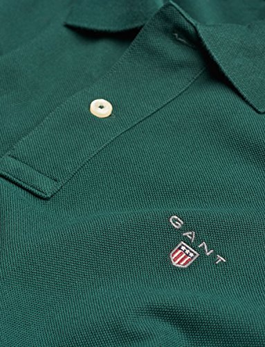 GANT Herren Poloshirt The Original Pique Rugger Regular Fit green