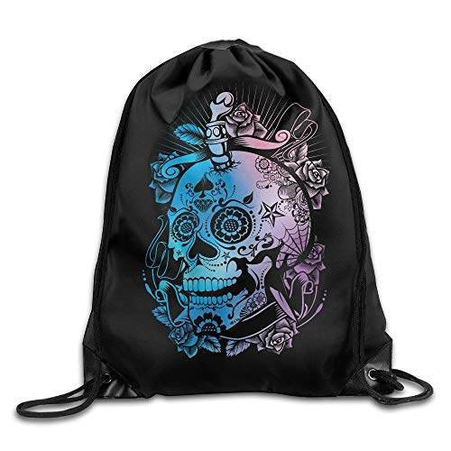 Drawstring Backpack Art Design Print Rucksack Shoulder Bags Gym Bag Hip Hop Brooklyn Grit 2017 Slogan Statue of Liberty 17