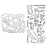 Kite Flying Metal Stanzformen Schablonen für DIY Scrapbooking Album Papier Karte Handwerk Prägen