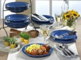 Friesland Ammerland Blue Tafel-Set 12 tlg Speiseteller + Suppenteller