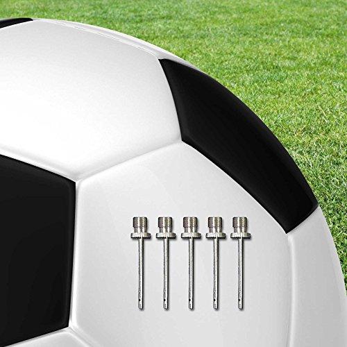 5 x Ersatznadeln im Set für Ballpumpe, für Teamsportbedarf - Fußballtraining