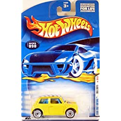 Hot Wheels 2000-090 First Editions 30/36 YELLOW Mini Cooper 1:64 Scale by Hot Wheels