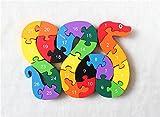 Woop I Numeri Di Puzzle 3D In Legno - I Bambini Piccoli Da 3 Anni