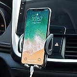 Avolare Support Téléphone Voiture à Grille d'aération 360 Degrés pour iPhoneX/8/7/7plus/6s//SE/5s,Samsung GalaxyS8/a5/Note,Nexus,LG,Sony,Android Smartphones,Appareils GPS