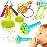 Joinfun 13 Piezas Burbujas de jabón Niño Bubble Makers Juguetes Bubbles para Juego de Fiesta Verano Al Aire Libre Boda Pompas de jabón