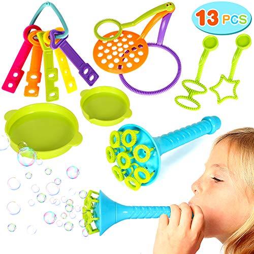Joinfun 13 Piezas Burbujas jabón Niño Bubble Makers
