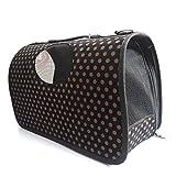 Pawzone Polka Dots Dog Travelling Bag-S
