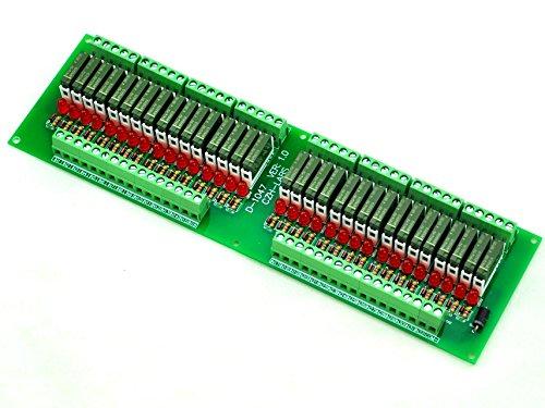electronics-salon-modulo-rel-slim-montaggio-a-pannello-dc5v-fonte-pnp-32-spst-no-5a-potere-pa1a-5v