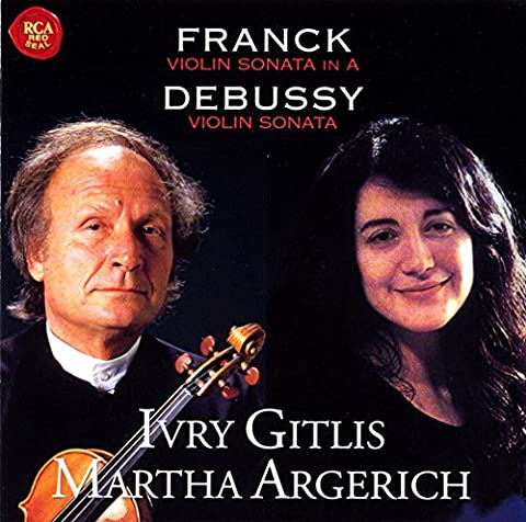 Ivry Gitlis - Franck&Debussy:Violin Sonatmit [Import