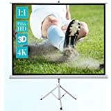 Ecran de projection sur pied ivolum 200 x 200 cm, Ecran de projection Format 1:1, Ecran de projection Home Cinema, Ecran de projection pour videoprojecteur, Ecran de projection 3D, Ecran de projection Full HD, Ecran de projection mobile, Ecran de projection portable