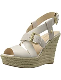Nine West Jentri Synthétique Sandales Compensés