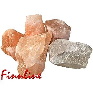 Weigand Salty Rocks 3 kg I Laborgeprüft I Speisesalz-Qualität I Salzkristallbrocken I Saunasalz I Salz I Sole I Salzkristalle I Sauna I Saunazubehör I Prime I Versand durch Amazon