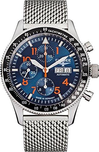 Elysee Mens Watch Executive Executive I automatic chronograph 80530MBLUE