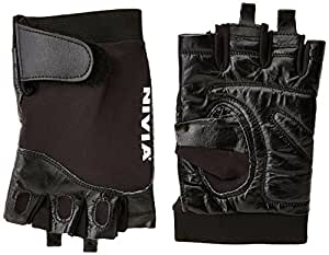 Nivia Splender Gym Gloves, Medium (Black)