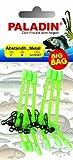 6 Stück BIG BAG Abstandshalter Kunststoff gebogen, grün, 7 cm