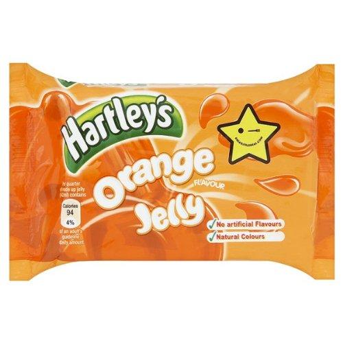 L'orange de gelée de Hartley 12 x 135gm
