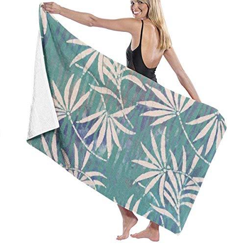 Anjoy Badetücher für den Strand Summer Padang Beach Tree Leaves Blanket Cute 100{d25985dee4b8c059691ae11cf7f097a45345c04f155283b4ddc567701cbff3a1} Polyester Travel Bath Sheets Large Towel Cover for Tent Floor Yoga Mat