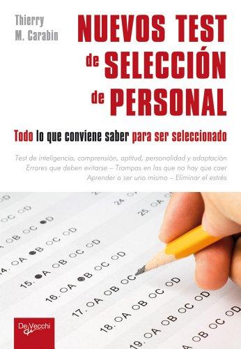 Nuevos test de selección de personal (Desarrollo profesional)