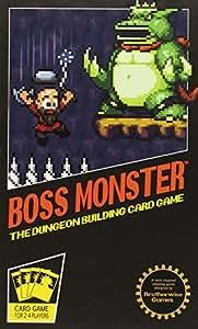 Brother Wize Games Boss Monster - Gioco di carte, confezionato in una scatola