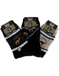 6 Paar Herren Thermo Socken - Sahara