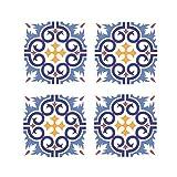 ENCOCO Fliesen-Aufkleber, abziehen und aufkleben, für Treppen, 6 Stück