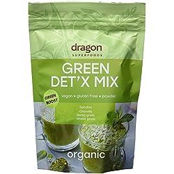 Green Detox Mix (Chlorella, Spirulina, Gerstengras und Weizengras) | Rohkost | 200 g