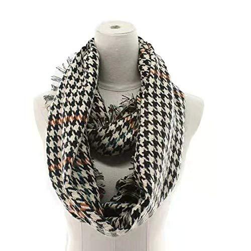 Tdpyt sciarpa doppia maglia 45 * 80 cm t