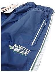 North Gear Equipo Kit de formación–12x–Pantalones de chándal–Azul/Verde–niños