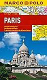MARCO POLO Cityplan Paris 1:15 000 (MARCO POLO Citypläne) - Collectif