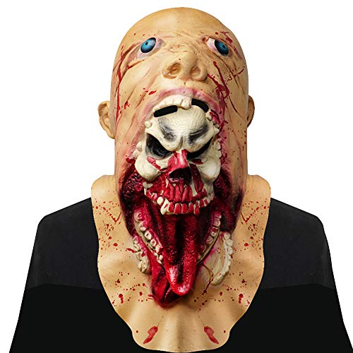 Maschera per adulti, supmaker horror halloween partito accessori clown terrificante maschera di lattice