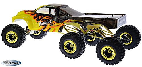 RC Auto kaufen Monstertruck Bild 3: RC Monstertruck Crawler 6 x 6 Climber Rock Fighter Hannibal XXL 104 cm 1:5 HSP 2,4 GHz RTR*