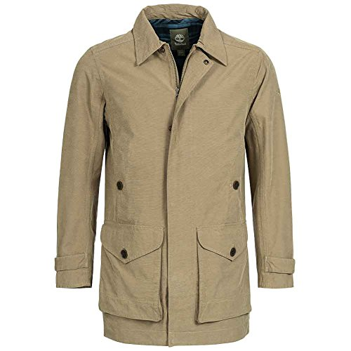 Timberland Mens Baker Mountain 2in1Waterproof Trench Coat Cappotto 5853j di 041 Cammello