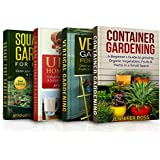 Gardening: 4 in 1 Masterclass: Book 1: Container Gardening + Book 2: Vertical Gardening + Book 3: Urban Homesteading + Book 4: Square foot Gardening (English Edition)