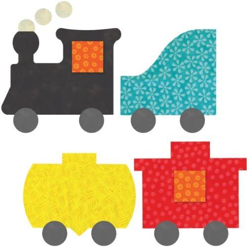 AccuQuilt 55367 - Matrice per découpage trenino trenino trenino con vagoni, 12 x 14 cm | Qualità Primacy  | finitura  | Non così costoso  efd663