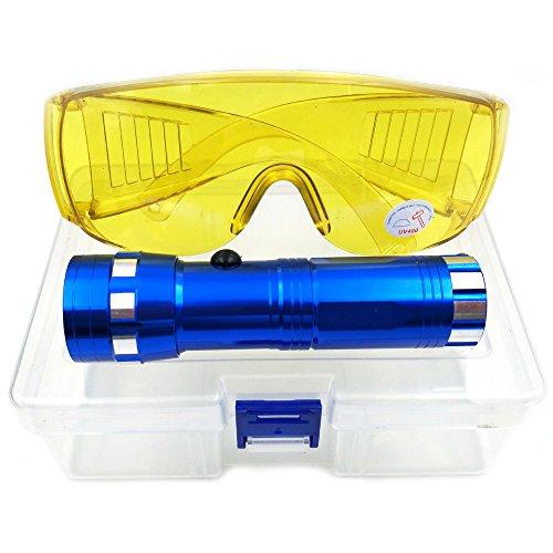 Nikauto Auto acondicionador Aire Linterna Detector